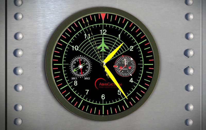 Сувенирка — часы