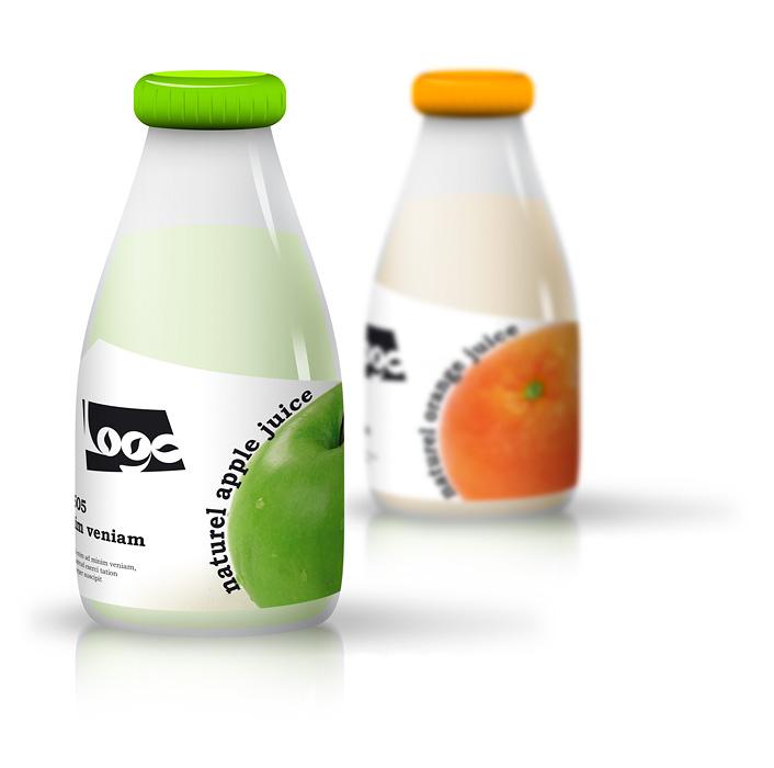 сок — концепция упаковки